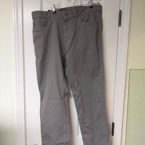 Calvin Klein Slim Straight Jeans Beige New